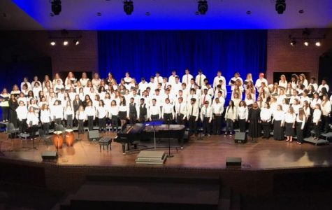 Central Choir Students Perform in the Lee University Honor Choir