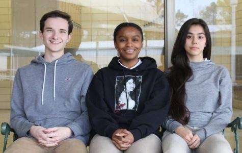 CENTRAL STUDENTS WIN FREEDOMS FOUNDATION'S YOUTH ESSAY CONTEST -- (left to right): Preston Fore, DayOnna Carson, and Danae Wnuk win the Freedoms Foundation Youth Essay Contest.