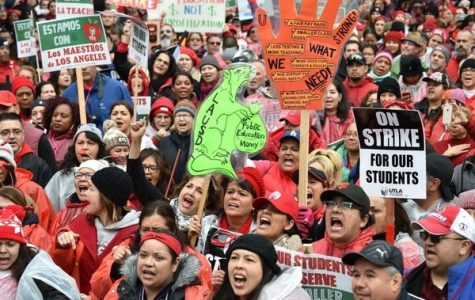 TEACHER STRIKES SHINE LIGHT ON THE EDUCATION SYSTEM IN THE U.S -- Teachers have taken a stand and have decided to strike  against the education system.