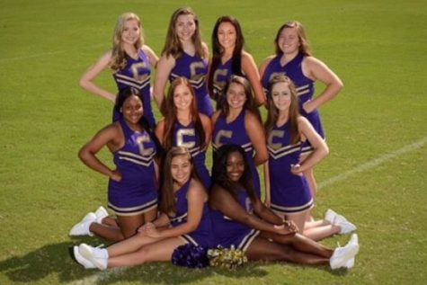 Central's Cheerleaders Make Preparations for the New School Year
