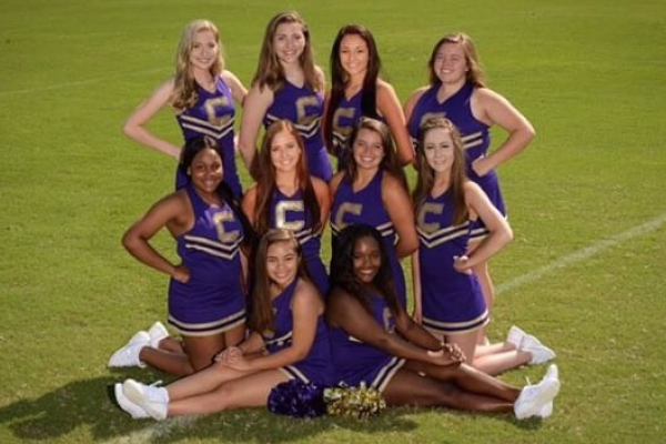 CENTRAL'S CHEERLEADERS MAKE PREPARATIONS FOR THE NEW SCHOOL YEAR -- The 2018-2019 cheer squad enjoys their time together as a close-knit team.