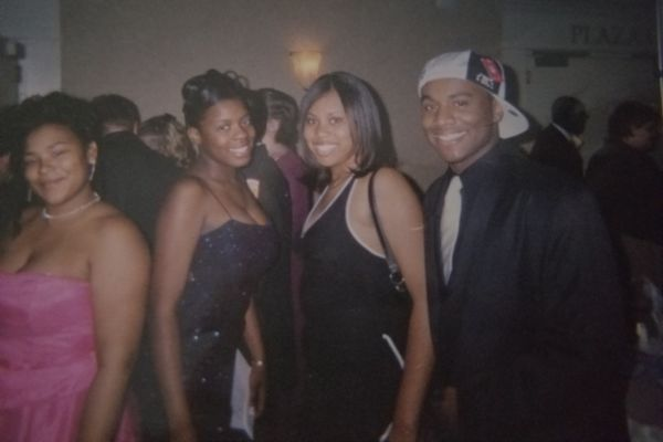 ALUMNI SPOTLIGHT: CANDACE MCLEAN -- Candace McLean at a Central High School dance among her friends.