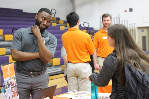 2019 CENTRAL HIGH SCHOOL COLLEGE FAIR-- An adviser from The University of Tennessee clarifies interesting facts.