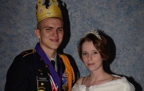 Frazier, Teems Named JROTC Royalty at Military Ball