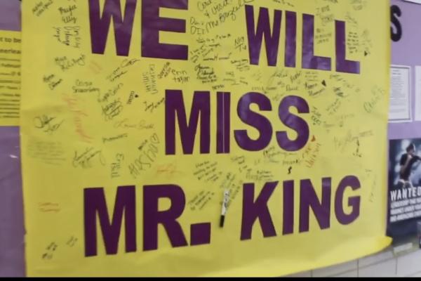Principal Finley King Flies High as He Departs Central High School