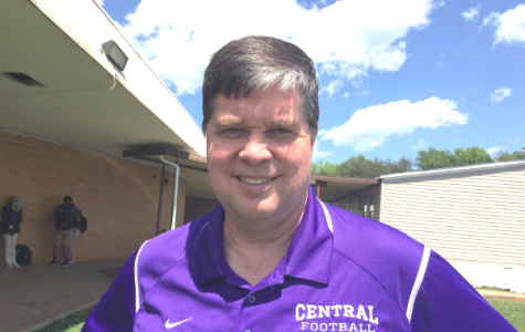 DR. LEE McDADE STEPS UP AS CENTRAL'S PRINCIPAL FOR THE REMAINDER OF THE SCHOOL YEAR -- Former district chief of operations, Lee McDade, takes over as Central's principal for the remainder of the year.