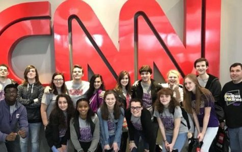 A SAPPY SENIOR GOODBYE-- Kaylee York looks back at the Central Digest trip to the CNN Center in Atlanta.