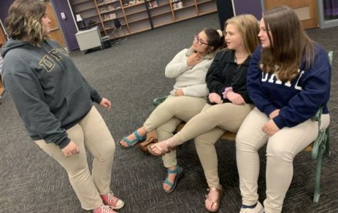 THE CENTRAL HIGH SCHOOL DRAMA CLUB GETS PERSONAL WITH