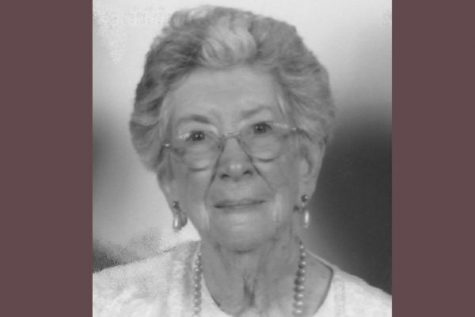 Betty Jolly, ('45) Hall of Fame Inductee, Continues Her Legacy of Volunteering for Those in Need
