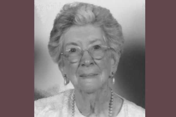 BETTY JOLLY, ('45) HALL OF FAME INDUCTEE, CONTINUES LEGACY OF VOLUNTEERING FOR THOSE IN NEED -- Distinguished alumni, Betty Jolly, dedicates her time to volunteer work and her self-created insurance business.