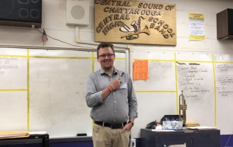 Teacher Spotlight: Joseph Archer is Marching in as Central's New Band Director