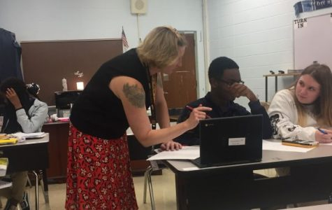 Algebra I Teacher Dee Underwood is Ready to Help Students Reach New Heights