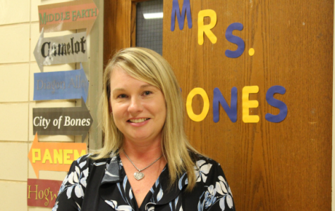 English 9 and 10 Instructor Misty Jones is Warmly Welcomed onto Central's Staff