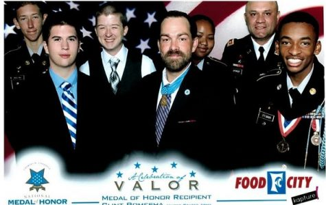 JROTC Students Attend Celebration of Valor Luncheon Where Medal of Honor Recipient Shares His Story