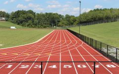 ATHLETES PREPARE FOR 2021 TRACK SEASON -- Central athletes will be using the track above to prepare for the upcoming season. File photo from 2019.