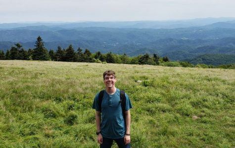 GRANT SCUTT EXPERIENCES TENNESSEE HISTORY AT ESTEEMED GOVERNOR'S SCHOOL -- Scutt encounters the rich history of Tennessee first-hand on top of Roan Mountain.
