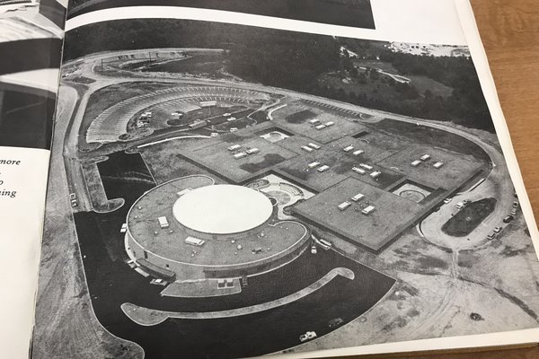 CENTRAL CELEBRATES 50 YEARS AT ITS HIGHWAY 58 LOCATION -- This is a photo of what Central High looked like right after it was built. It was included in the first Champion yearbook for the 1969-1970 school year.