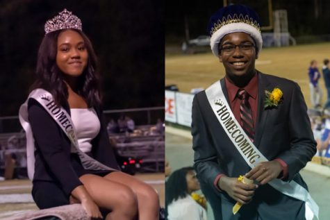 HOMECOMING 2019 -- Bileah Sit was crowned Homecoming Queen while Jordan Hudson was crowned Homecoming King on October 19.