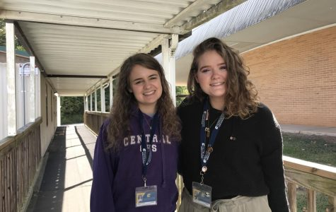 DARRINGTON BAKER AND JADYN SNAKENBERG-LEGGETT GAIN EXPERIENCE AS STUDENT TEACHERS AT CENTRAL -- Student teachers Darrington Baker and Jadyn Snakenberg are ready to start their new beginnings as future educators.