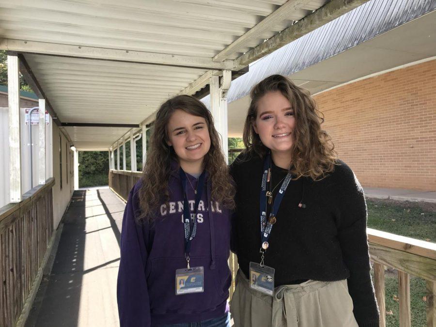 Darrington Baker and Jadyn Snakenberg-Leggett Gain Experience as Student Teachers at Central