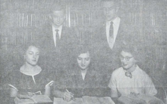 "Looking Back: ""Youth Wants to Know"" is the Commencement Theme For Class of 1956 Graduation"