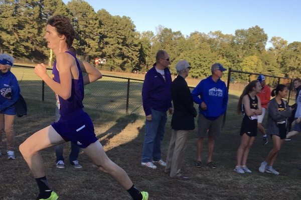 Senior Kaigen Mulkey Represents Region in State Cross Country Meet