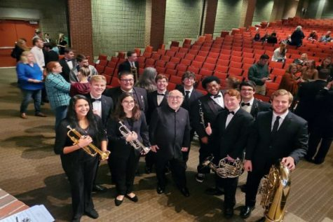 Seven Central Students are Accepted into Lee Honor Band
