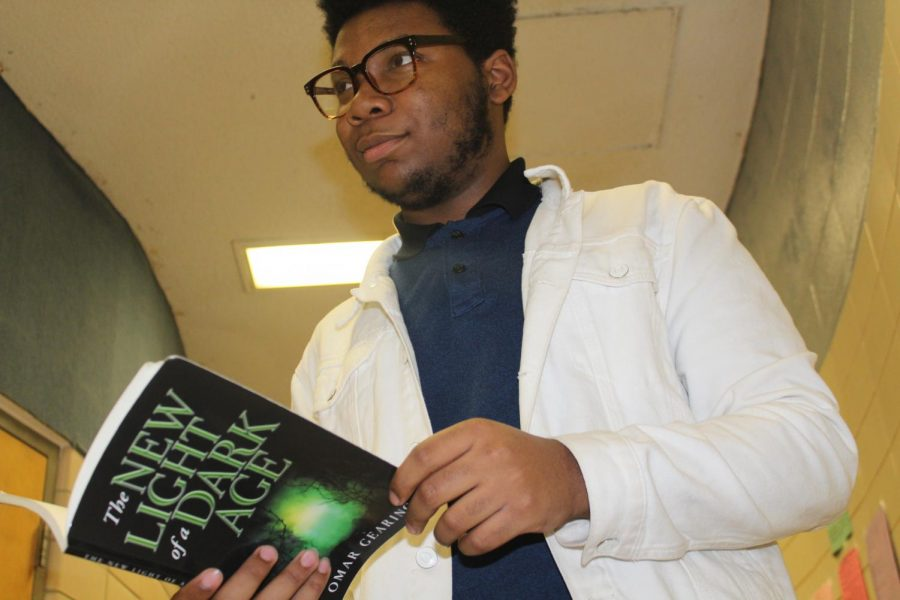 SENIOR OMAR GEARING BECOMES PUBLISHED AUTHOR  -- Omar Gearing explains his writing process and the inspiration for his books.