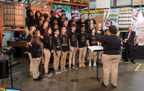 Central Voices 'Share Their Christmas' With a Food Drive and Musical Performances