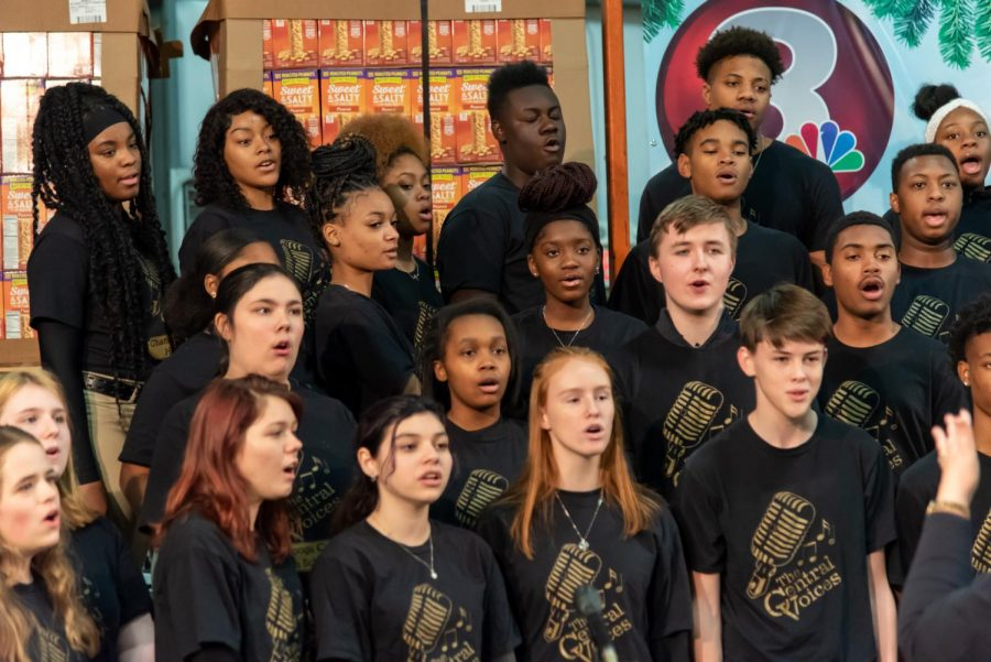 CENTRAL STAFF AND STUDENTS DISAPPOINTED AFTER MANY CANCELLED EVENTS THIS SCHOOL YEAR-- Many school events, including the choir's annual holiday concert pictured above, have been cancelled or postponed.