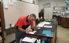 Trevor Brittingham Takes Position as Chemistry Teacher