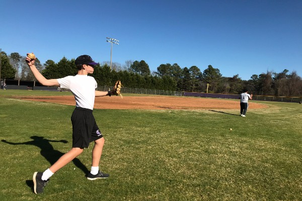 UNDERCLASSMEN CONCENTRATED BASEBALL TEAM IS OPTIMISTIC FOR NEW SEASON -- Head Coach Glenn Carter has high expectations for the performance of this year's baseball team.