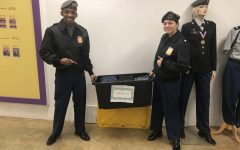 ROTC Students Organize Clothes Donation for Homeless Teens