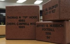 Central Alumni Association Raises Money with Brick Sale