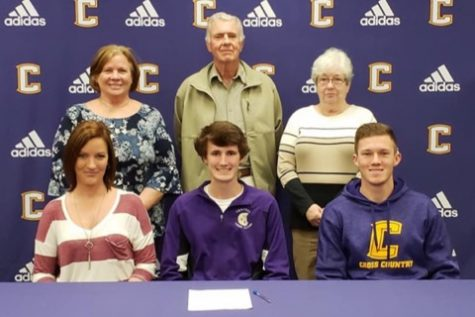 Kaigen Mulkey Signs to UTC on a Cross Country Scholarship
