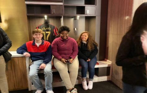 Gifted Teacher Laura Costello Hosts a  Field Trip to the Mercedes-Benz Stadium