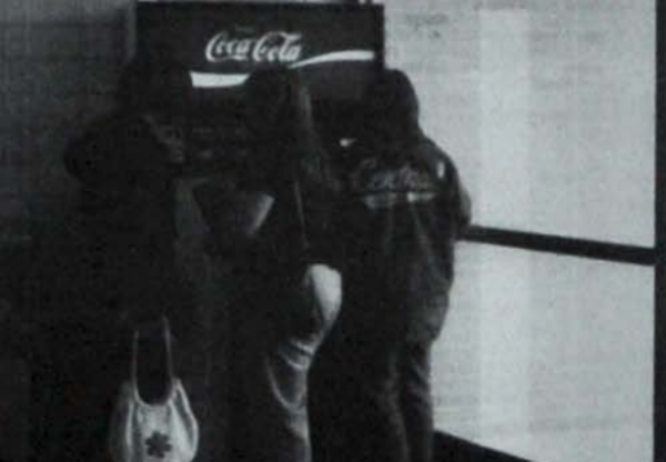 LOOKING BACK: CENTRAL'S 1978 SCHOOL YEAR SEES INTRODUCTION OF HIGH-ESTEEMED COCA-COLA MACHINES -- Students crowd around one of the new Coke machines during one of their breaks.