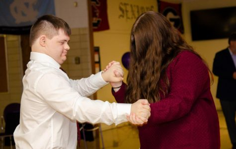 CENTRAL'S CDC DEPARTMENT HOLDS ANNUAL PROM -- Central's CDC Prom on February 21 was a great success.