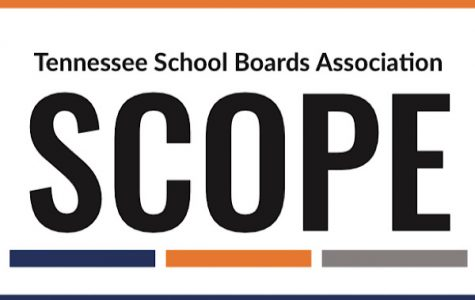 SCOPE CONFERENCE COMMENCES DESPITE COVID-19 CONCERNS -- Senior Meghan Duncan and Junior Grayson Catlett represented Central at the annual SCOPE conference that aims to highlight student concerns.