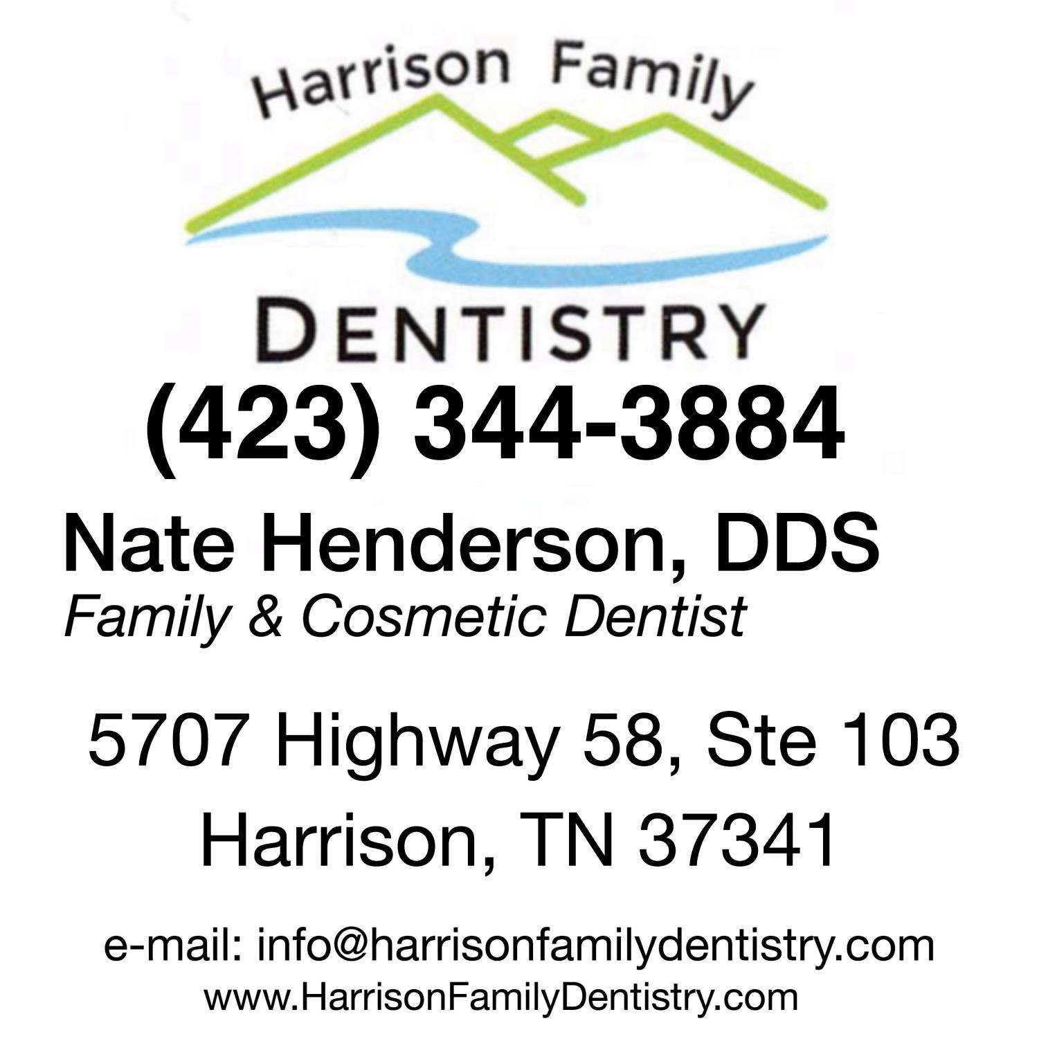 HARRISON FAMILY DENTISTRY AD