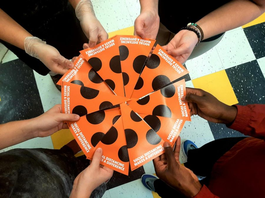 Central Students Practice Social Distancing And Other Precautions