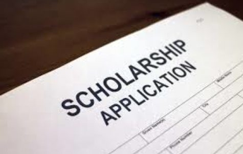 THE CANCELATION OF CLASS NIGHT LEAVES THE AWARDING OF SCHOLARSHIPS UNCERTAIN -- Due to school activities being cancelled, the administration plans to recognize recipients in a different way.