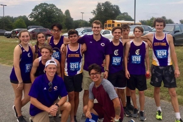 THE CENTRAL CROSS COUNTRY TEAM BEGINS 2020 SEASON -- Seen is Central's cross country team for the 2019 season.