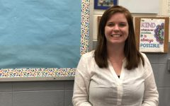 MOLLY BROWN PROVIDES INCLUSIVE EDUCATION PATHS FOR CENTRAL STUDENTS-- Molly Brown sits in her classroom waiting for her students.