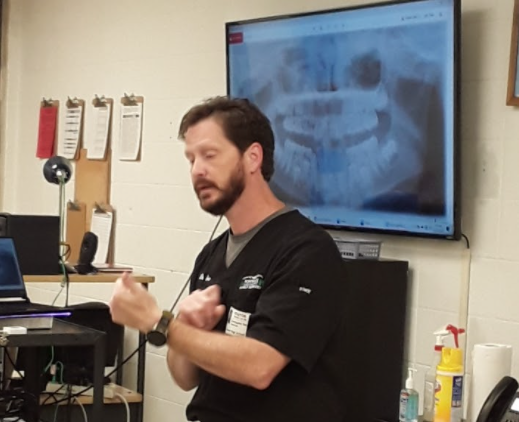 -- Dr. Sims discusses how to identify people based on age and tooth structure.