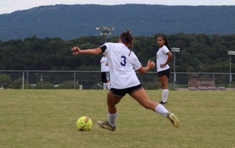 The Girls' Soccer Team Takes a Tough Loss Against Sequatchie