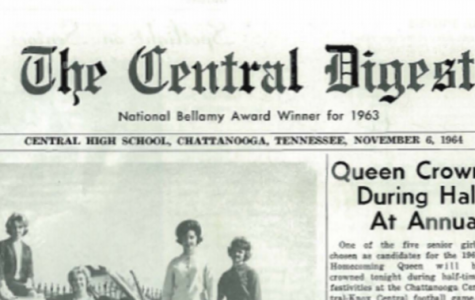 LOOKING BACK: PRESIDENT LYNDON B. JOHNSON VISITS TENNESSEE IN 1964 -- Pictured is the front page of the Central Digest's November 1964 edition.