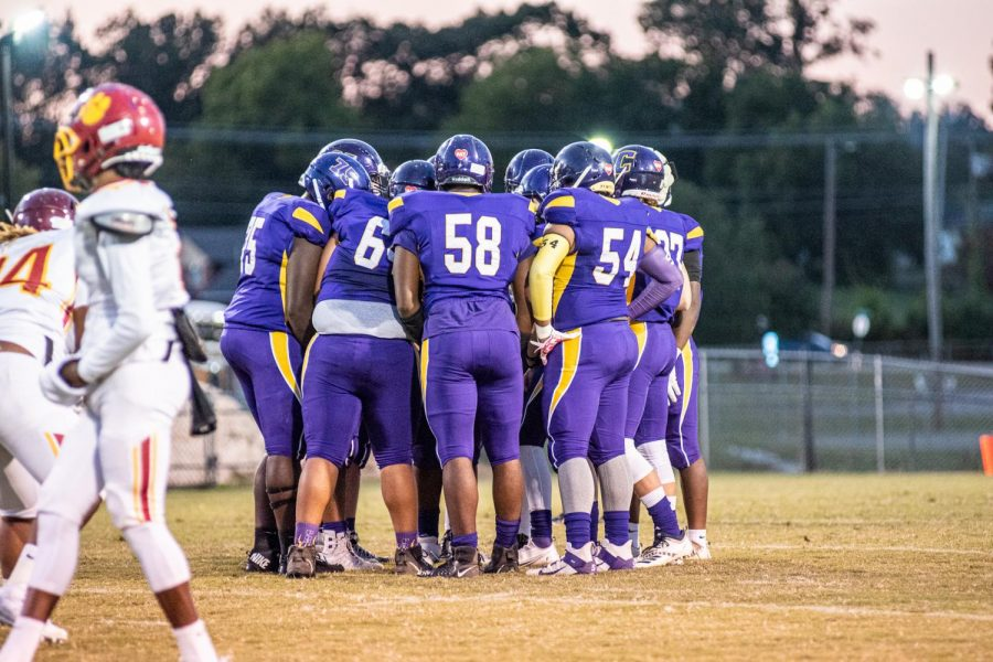 PHOTO GALLERY: HOMECOMING 2020 -- The Central Pounders face the Howard Tigers on Homecoming night.
