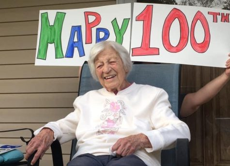 RUTH RAMSEY CELEBRATES 100 -- Alumna Ruth Ramsey celebrates her 100th birthday.