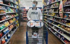 THE GRAY AREA: THANKS-KEEPING AND GRAY FRIDAY -- Columnist Grayson Catlett browses the aisles of Wal-Mart in preparation of Black Friday.